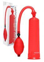 Power Pump Kırmızı Penis Pompası