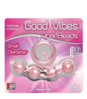 GOOD VİBES ANAL BEADS SMALL PİNK TOP