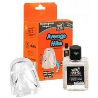 Average Mike 40 ml Kayganlaştırıcı Jel Hediyeli 5 cm Uzatmalı Penis Kılıfı