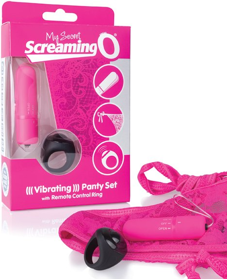 The Screaming O Giyilebilen Pembe Kumandalı Vibratör