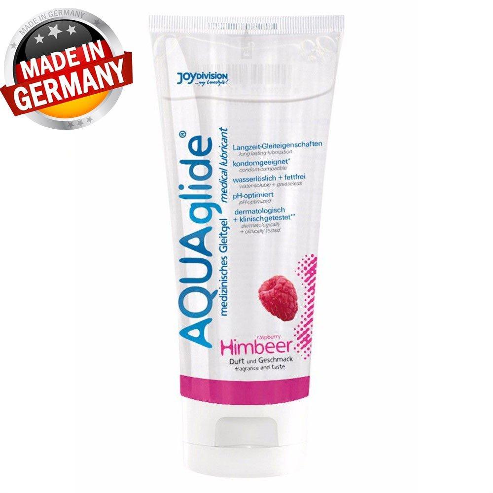 Aqua Glide 100 ML Ahududulu Kayganlaştırıcı Jel Made İn Germany