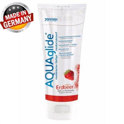 Aqua Glide 100 Ml Çilekli Kayganlaştırıcı Jel Made İn Germany