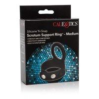 CalExotics 3-Snap Scrotum Ring Penis ve Testislere Takılan Penis Halkası