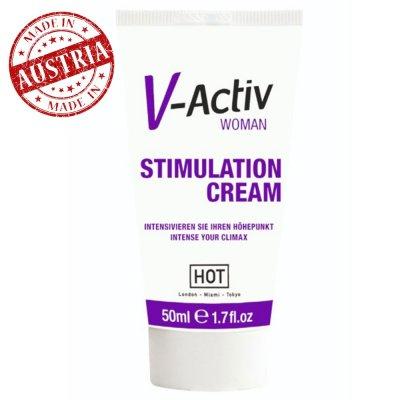 Hot V-Activ 50 Ml Bayanlara Özel Krem Made İn Avusturya