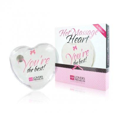 Lovers Premium Isınabilir Kalp Şeklinde Masaj Aparatı