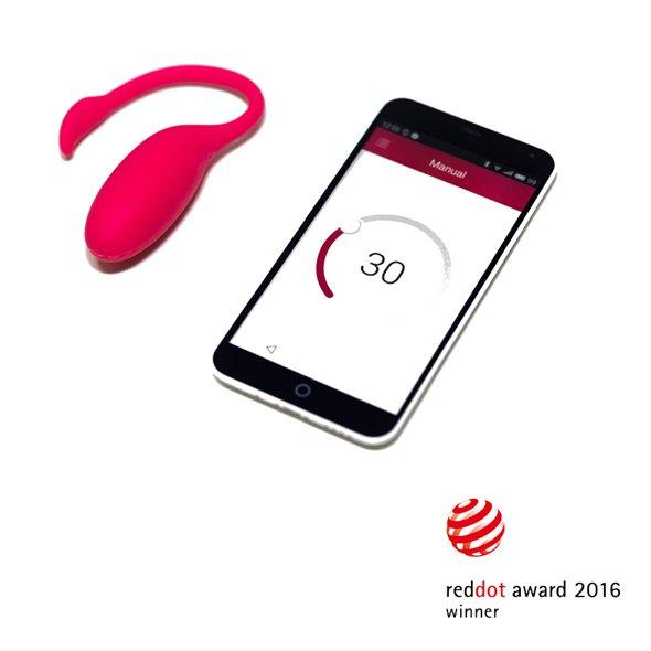 Magic Motion Flamingo Telefon Uyumlu Mini Vibratör
