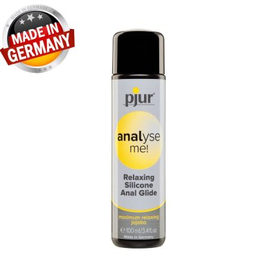 Pjur Relaxing Silikon Anal Kayganlaştırıcı Jel Made İn Germany