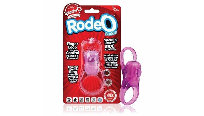 Screamin Rodeo Bucker Titreşimli Penis Halkası