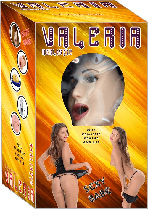 Valeria Sesli& Titreşimli Realistik Vajinalı Bebek